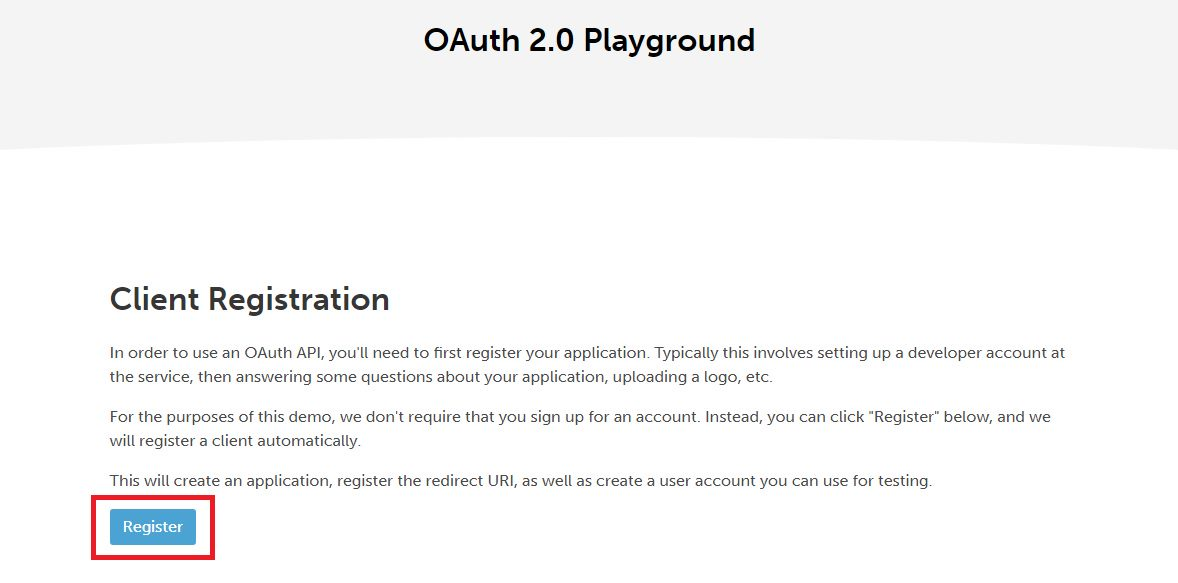 Playing with OAuth and OIDC - gathering information Step 3